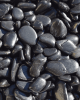Black Polished Landscaping Pebble - 50 lbs.