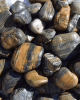 Striped Polished Landscaping Pebble - 50 lbs.